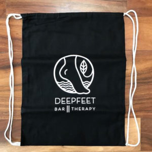 ashiatsu deepfeet bar therapy tote bag