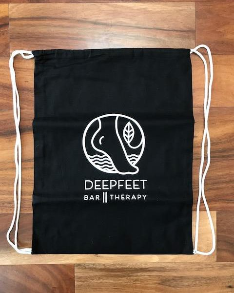 ashiatsu deepfeet bar therapy tote bag
