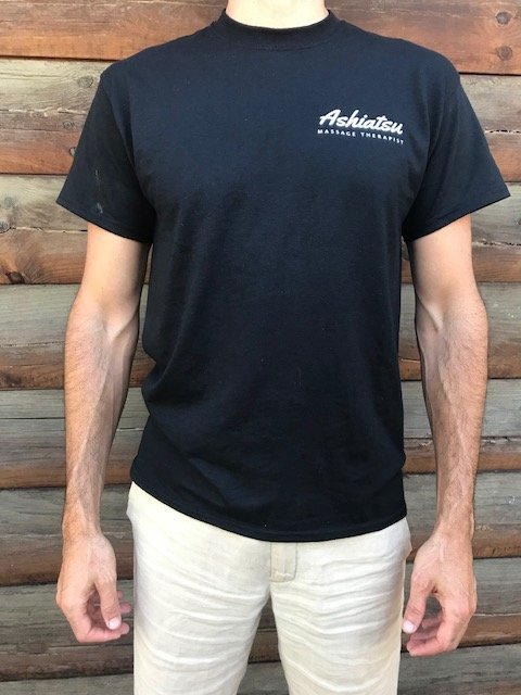 ashiatsu therapist mens shirt