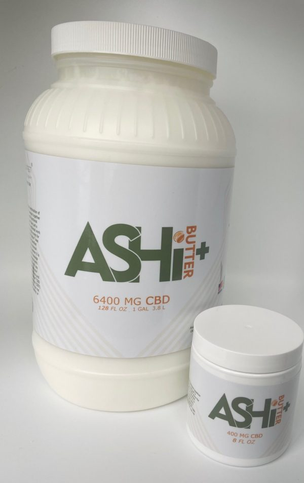 CBD Ashi Butter Ashiatsu Massage Cream