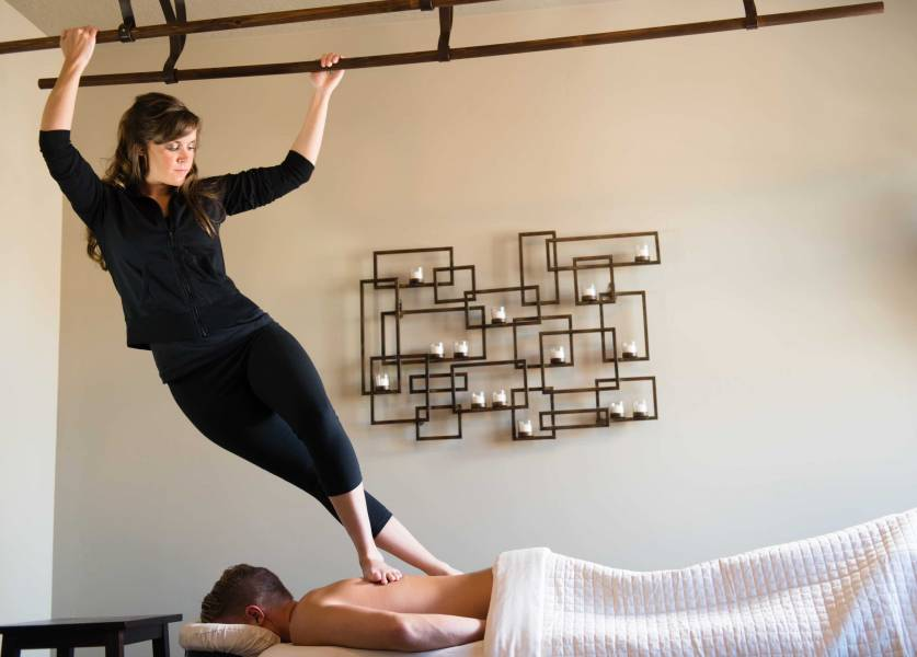 Ashiatsu DeepFeet Bar Therapy